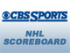 View live NHL scores from CBSSports.com. You can configure this widget to highlight your favorite team's score.